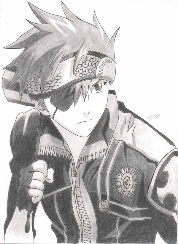 13 anime drawings by lavi