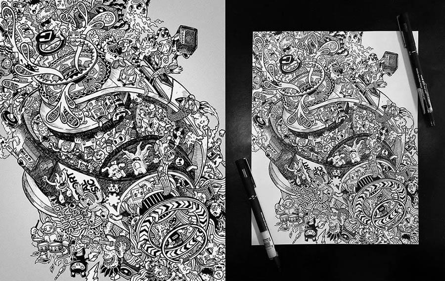 13 doodle art