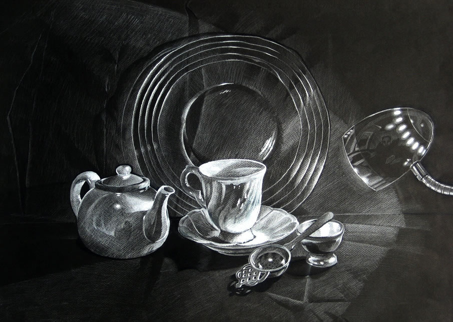 13 still life drawings