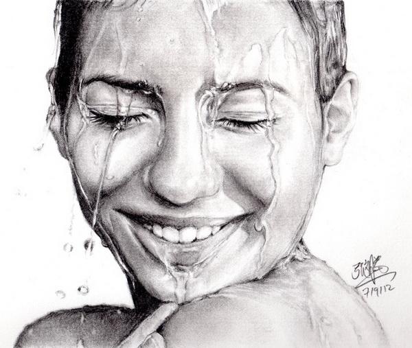 girl face drawings -  14