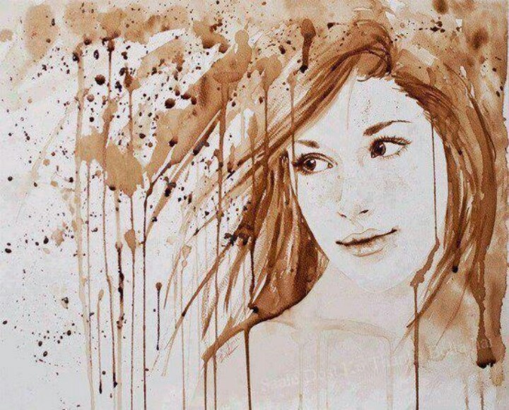 15 amazing coffee painting