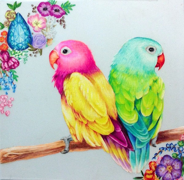 birds drawings -  15