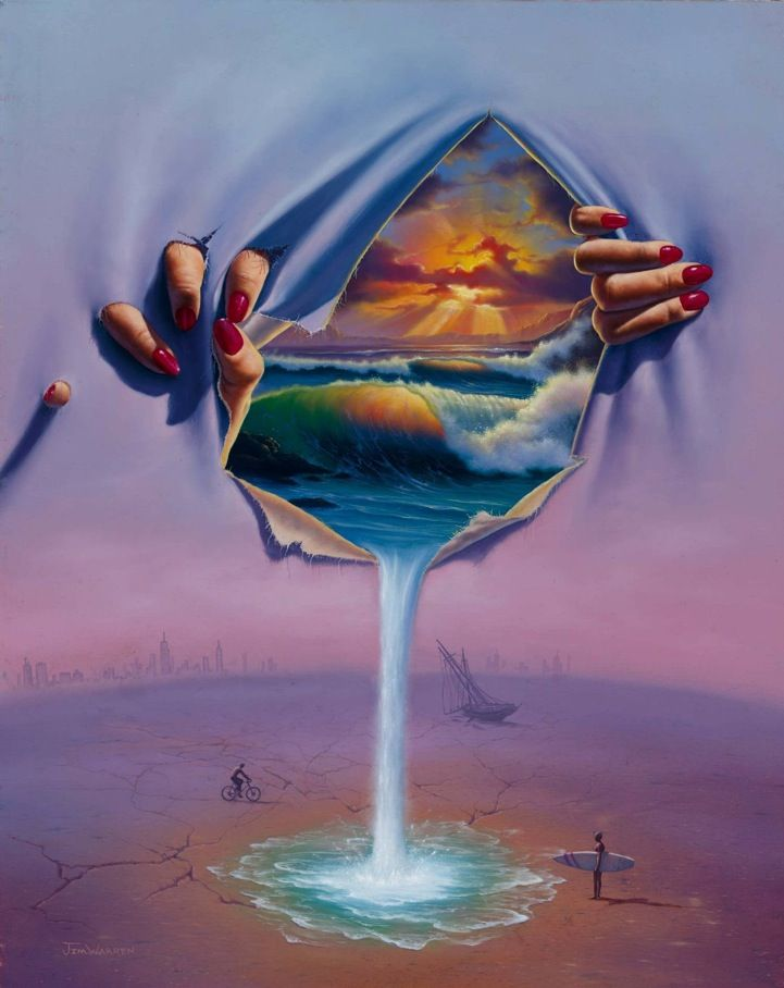 15 surreal art by jim warren