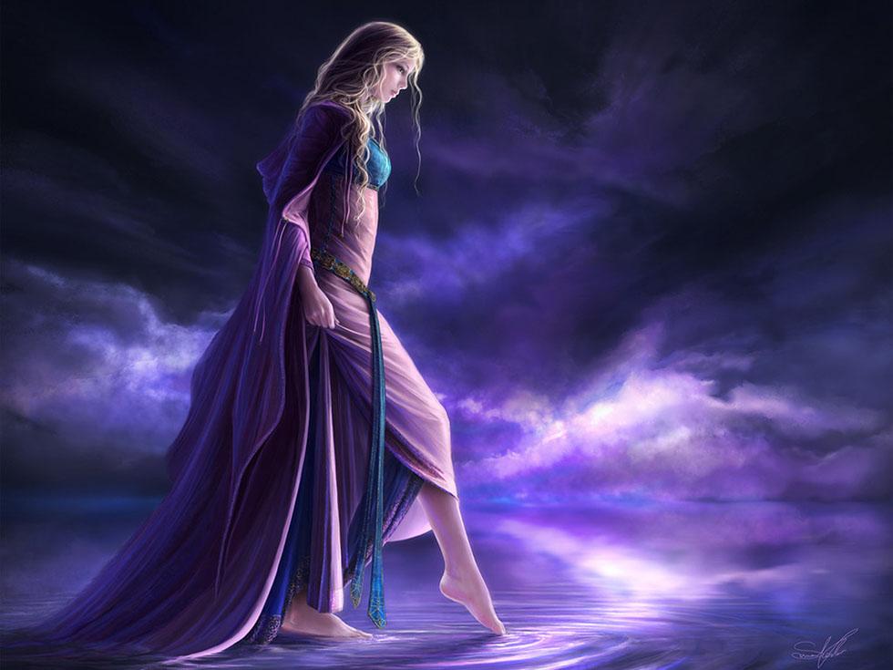 16 girl fantasy art