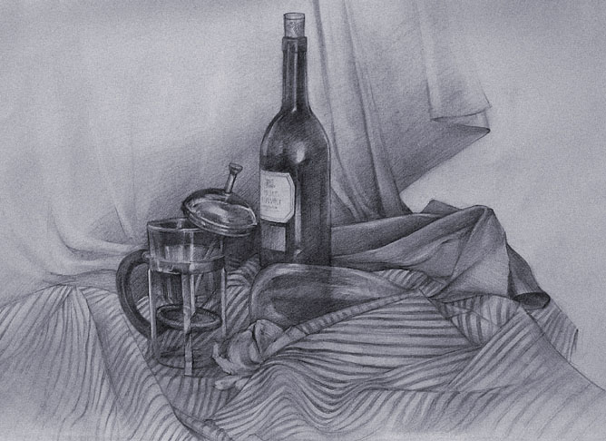 still life drawings by galean -  16