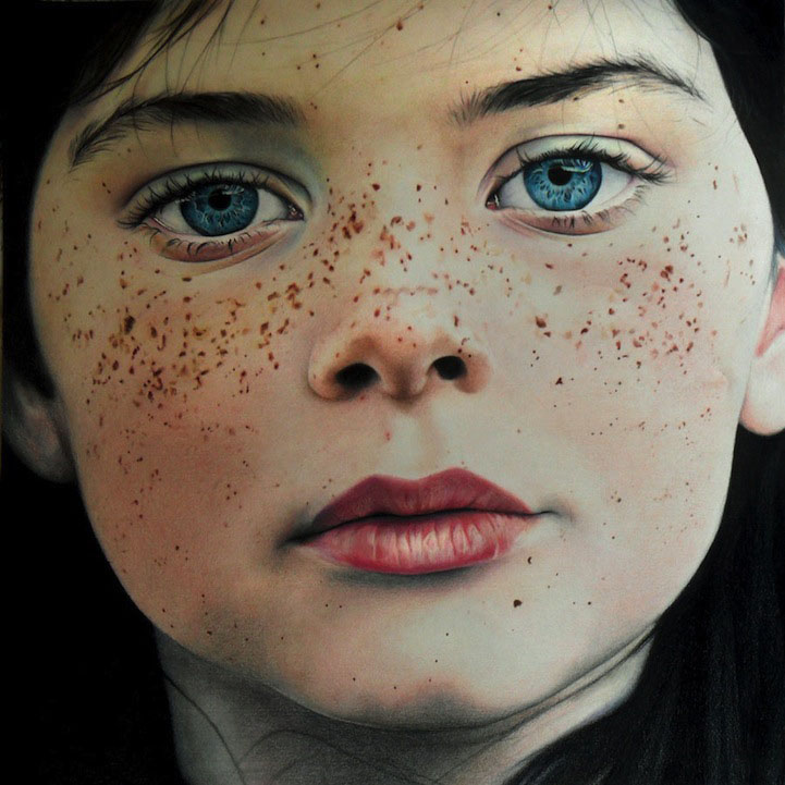 17 color pencil drawing