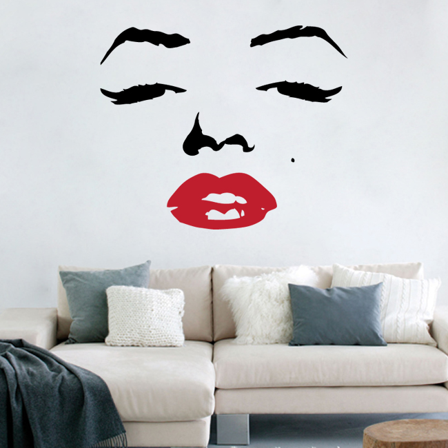 17 face wall art