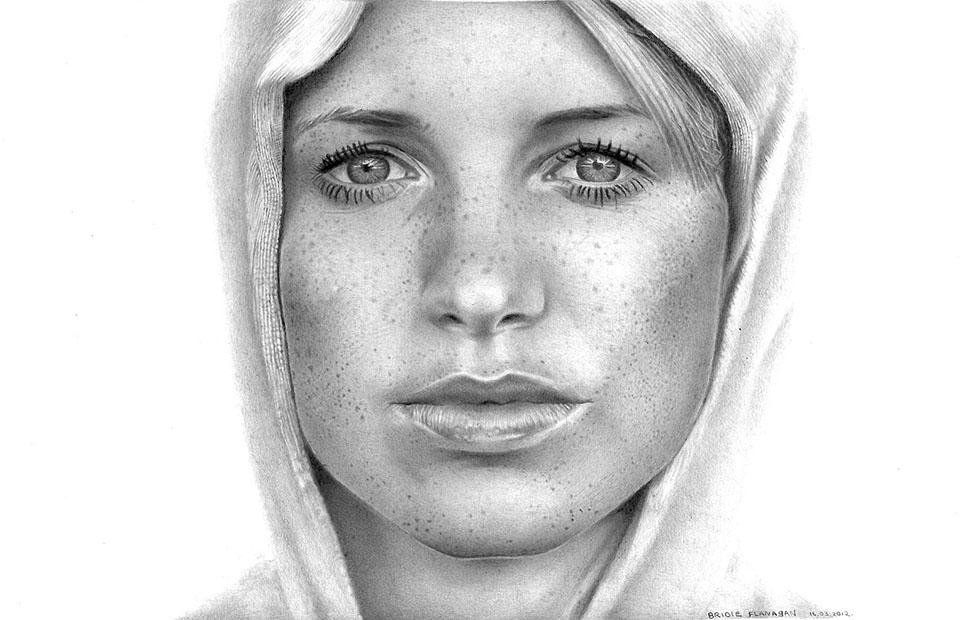 17 girl face drawings