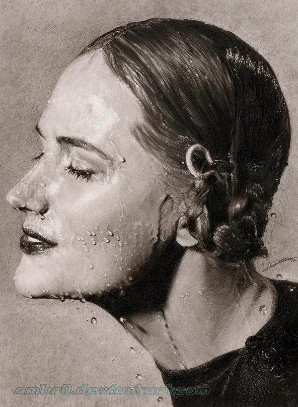 17 pencil drawings