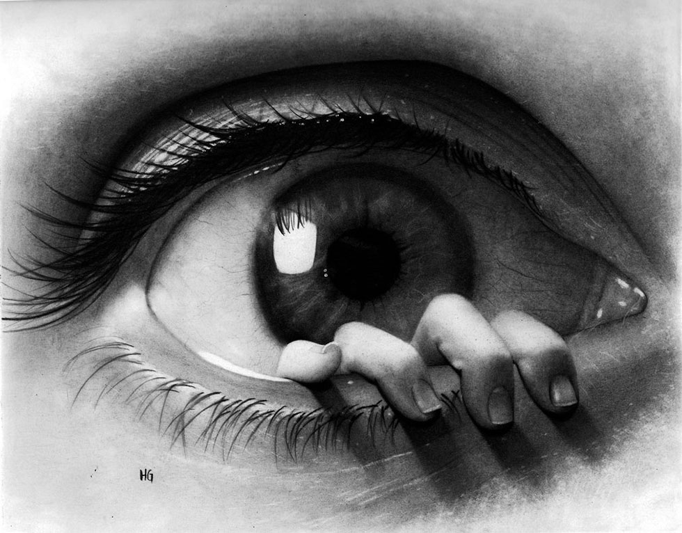 17 surreal eye drawing