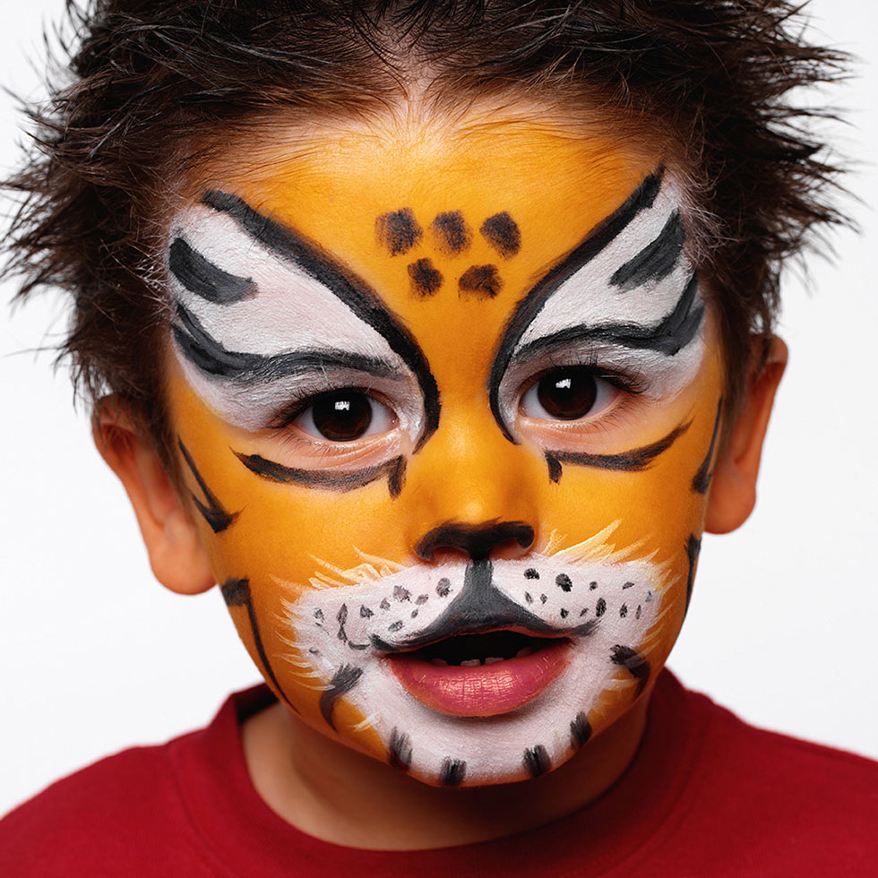 tiger face paintings -  17