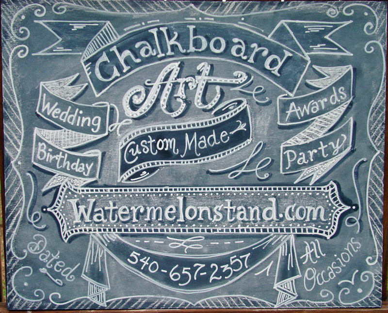 18 chalk drawings