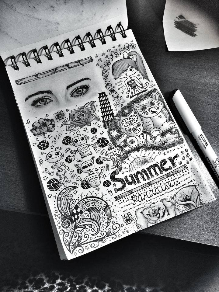 18 doodle art by saki sta maria