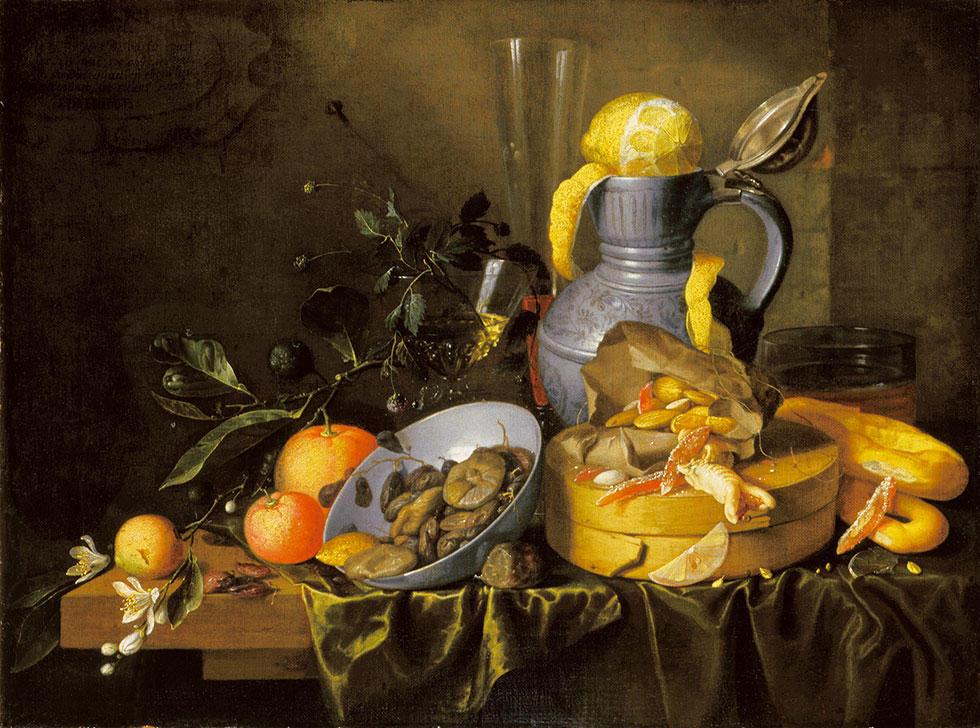 18 still life painting by deheem stilleben