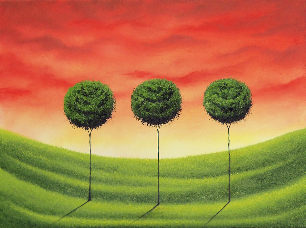 tree painting by rachel bingaman -  18