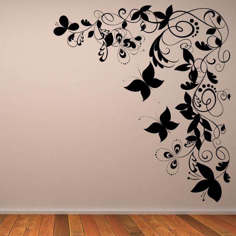 19 butterflies wall art