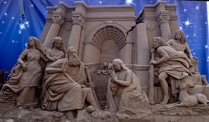 19 jesus christ sand sculptures