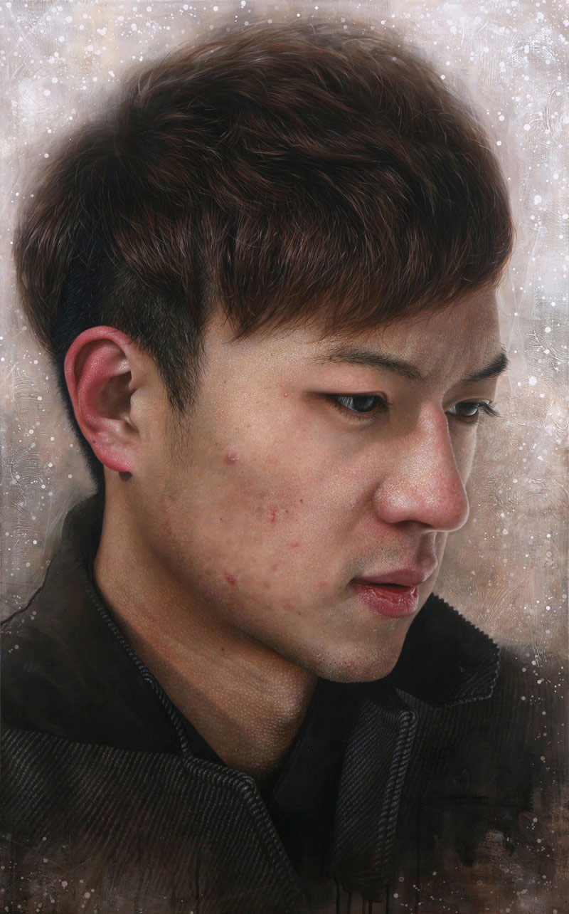acrylic painting by joongwon charles jeong -  2