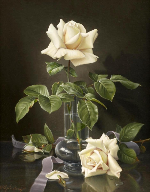 rose flower paintings -  2