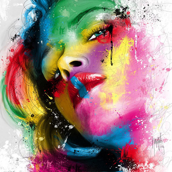 acrylic painting by patrice murciano -  20
