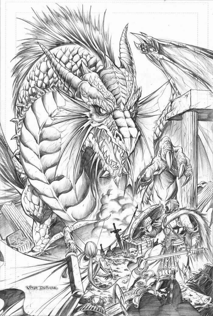 dragon drawings -  20