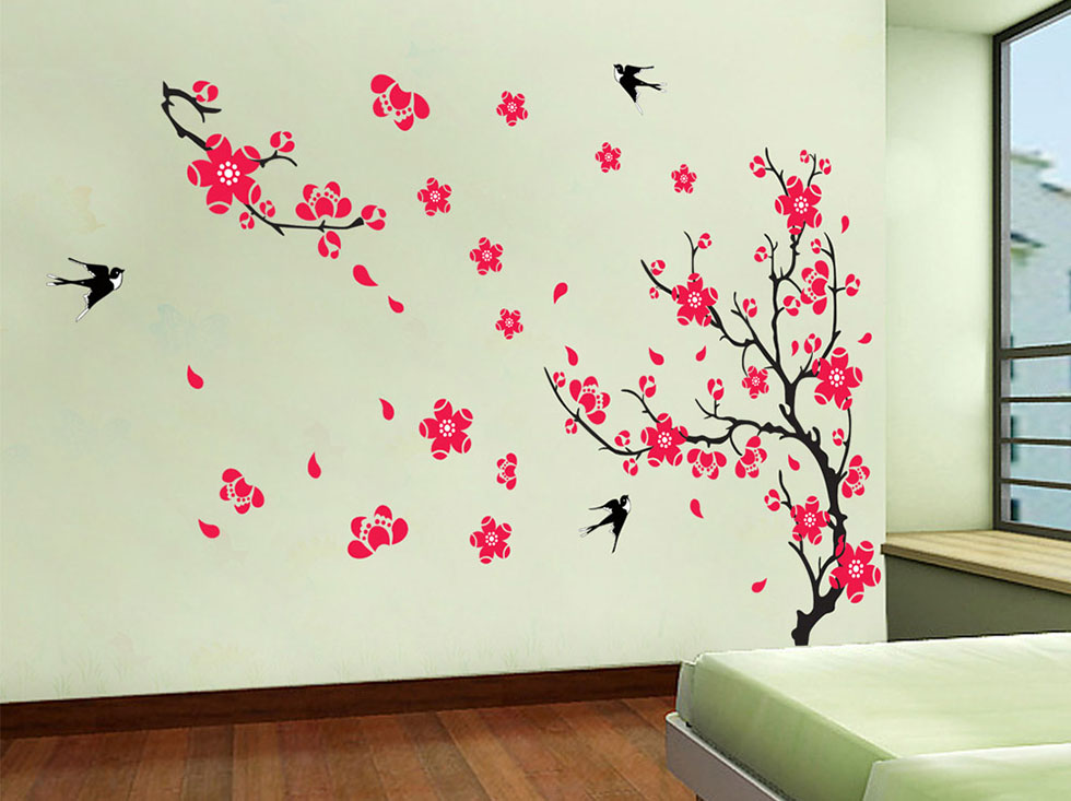 20 flowers wall art