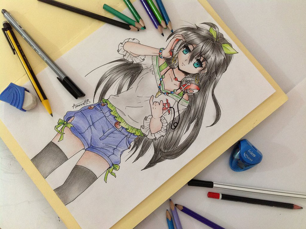 manga drawings by amana jackson -  21