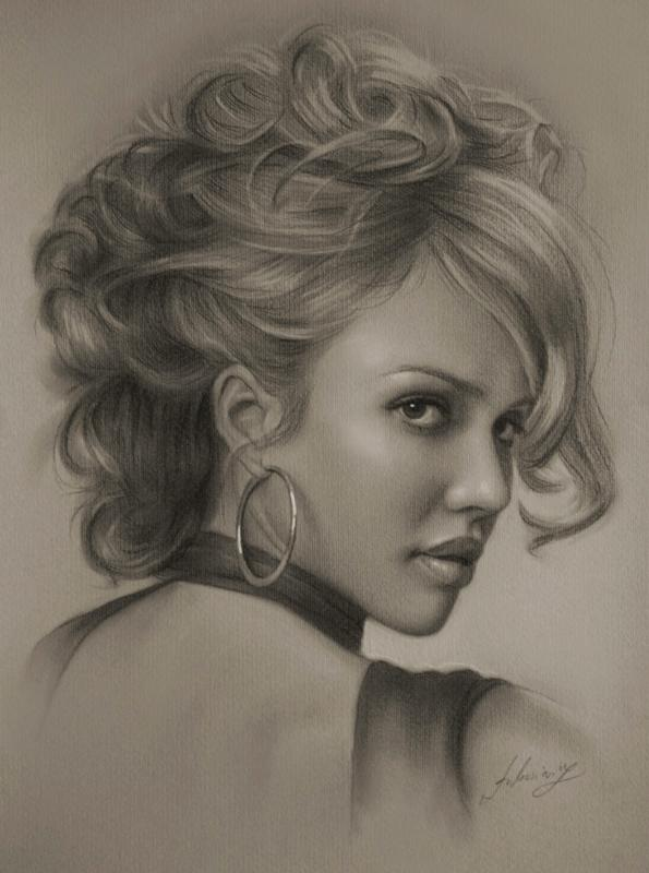 21 pencil drawings