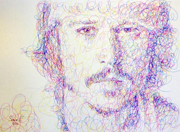 21 scribbles