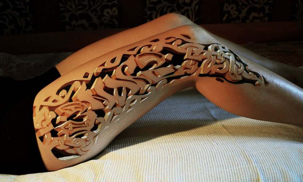 22 body paintings