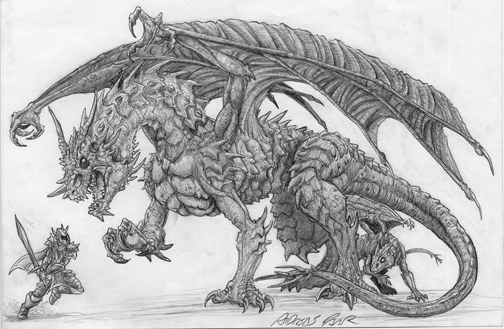 dragon drawings -  22