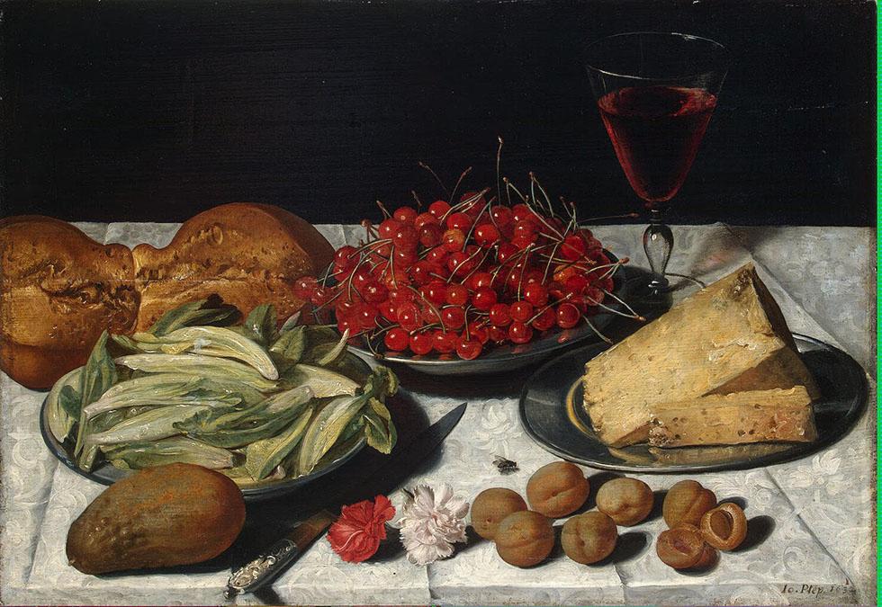 still life painting by plepp joseph -  22