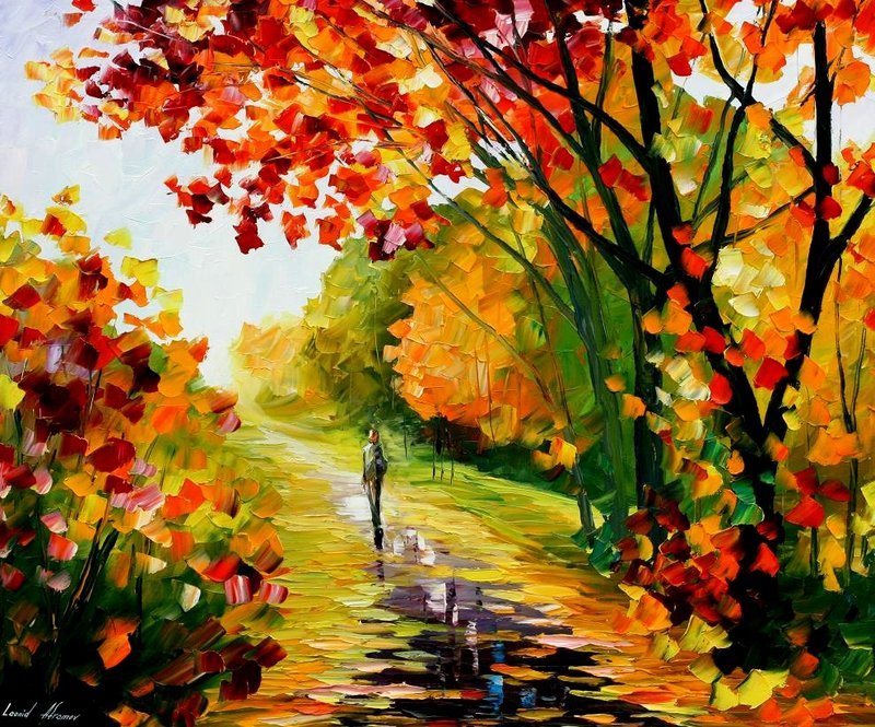 23 colorful paintings by leonidafremov