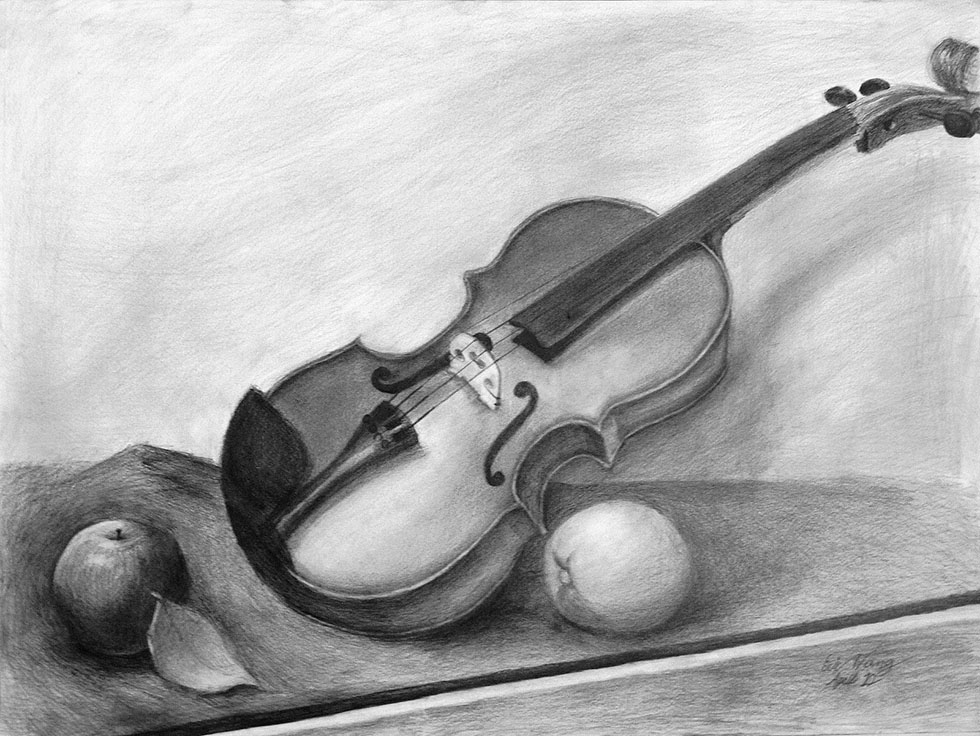 23 still life drawings