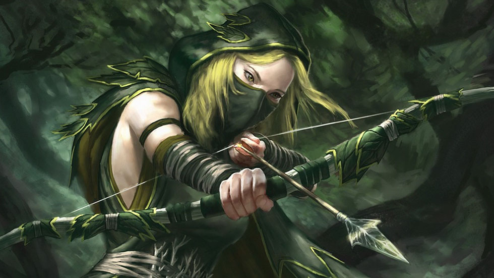 24 warrior girl fantasy art