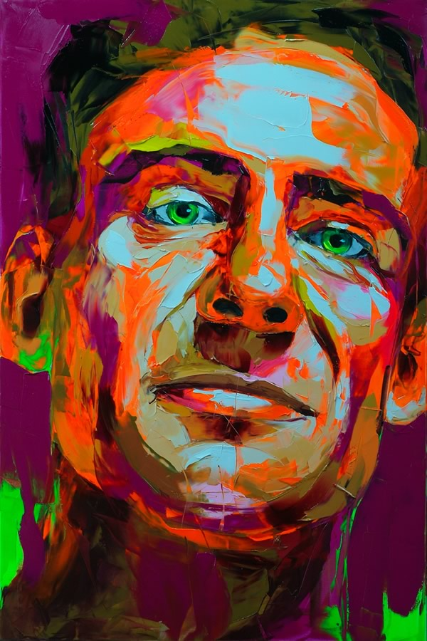 25 colorful paintings by francoise nielly