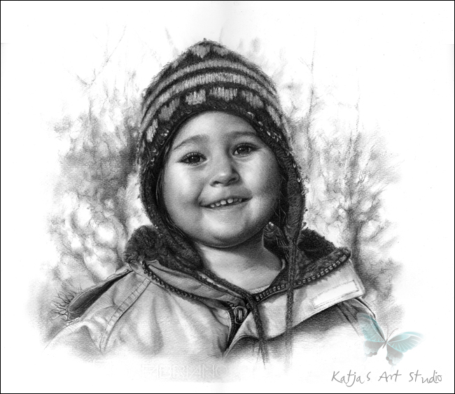 25 potrait drawings