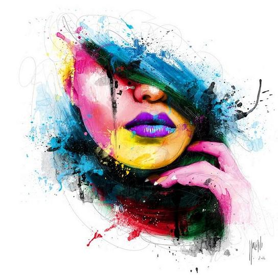3 acrylic painting by patrice murciano