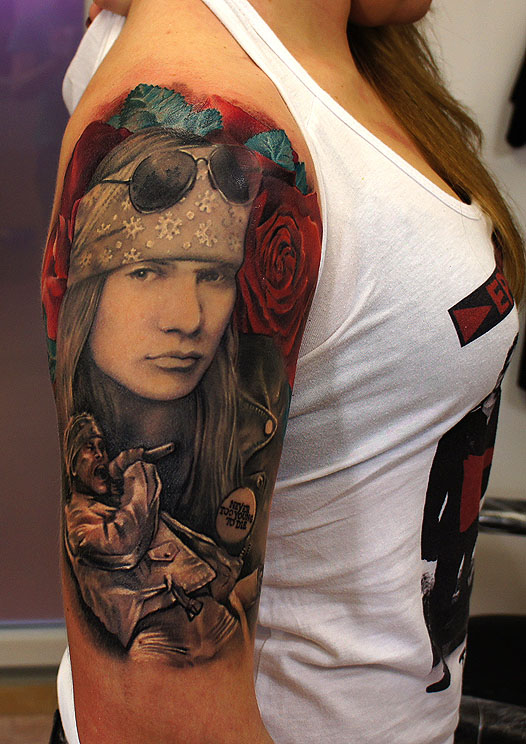 axl tattoos women grimmy -  3