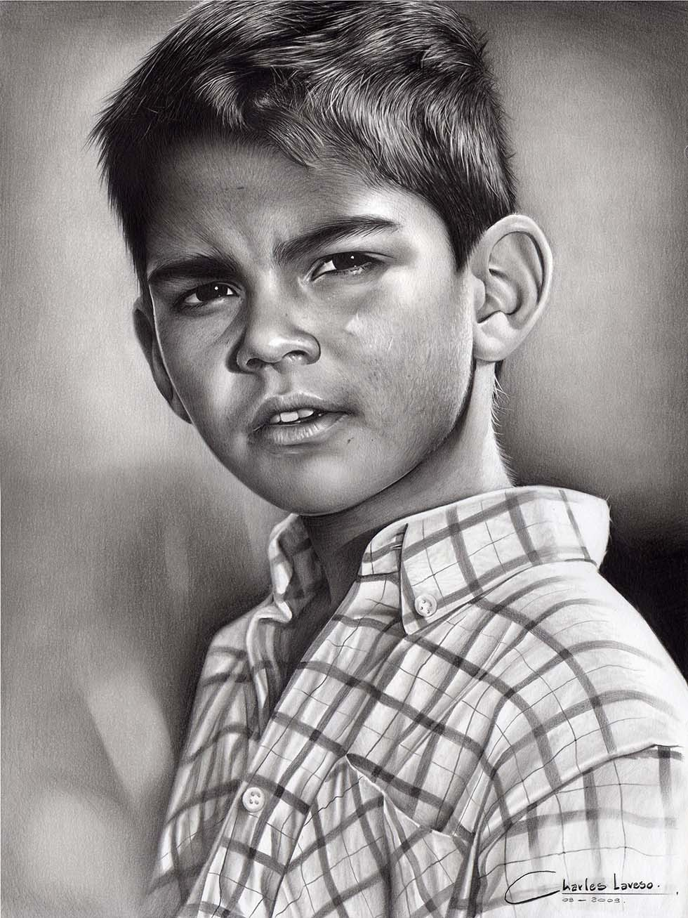realistic drawings by charlesdesenhos -  3