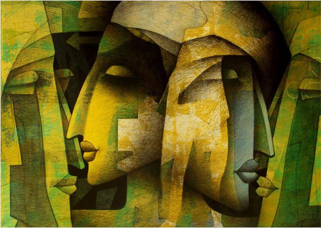 4 creative paintings