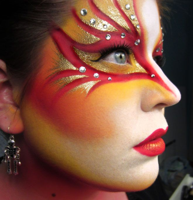 cute face paintings -  4