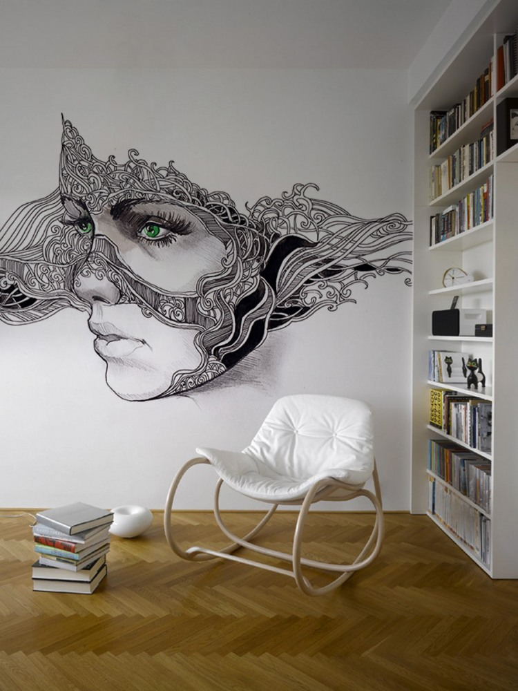 4 face wall art