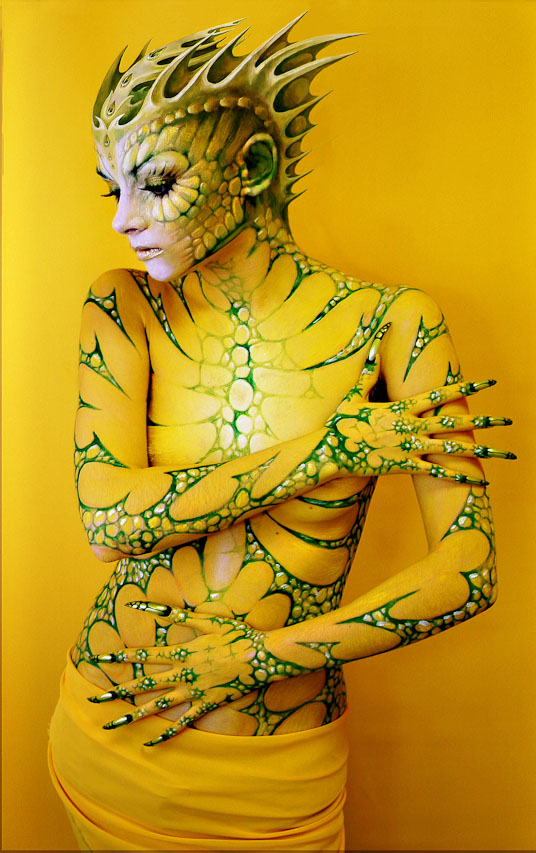 body paintings -  5