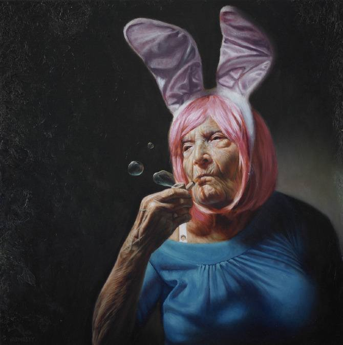 5 funny paintings by yarmosky