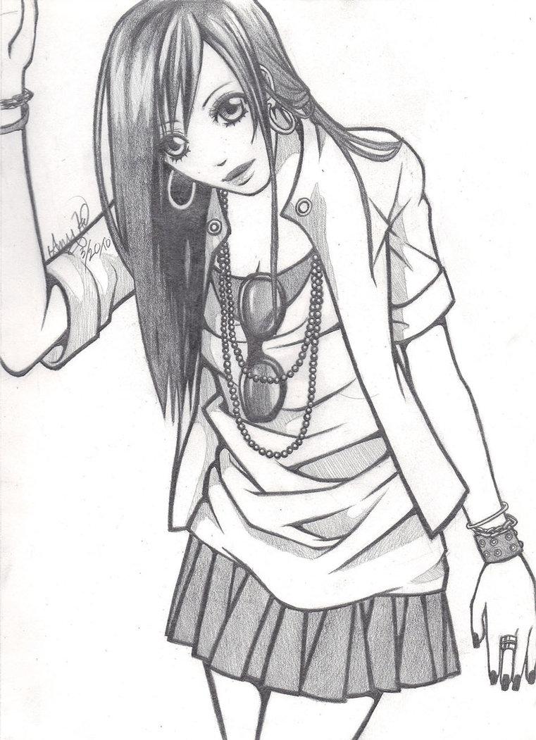 5 manga drawings