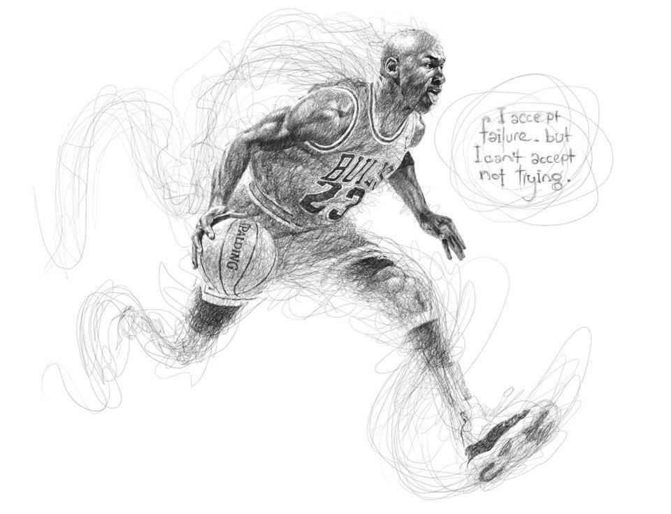5 scribbles