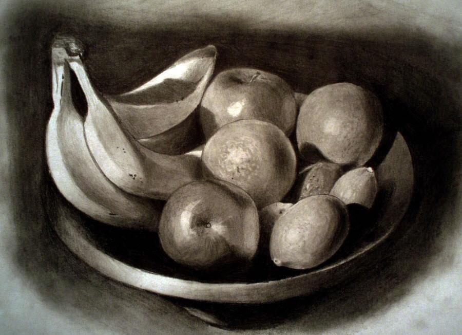 5 still life drawings