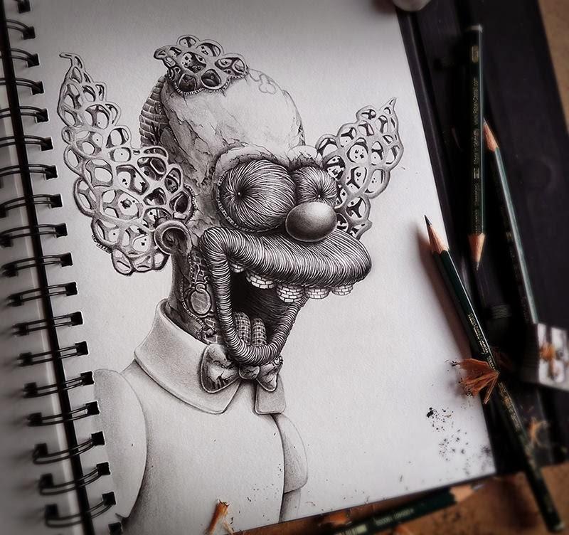 cartoon drawings by pez pierre yves riveau -  6