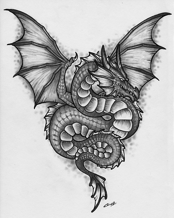 dragon drawings by cassandralcanady -  6